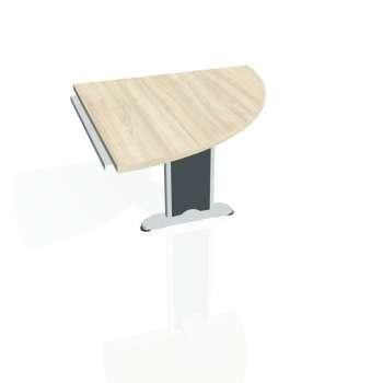 Přídavný stůl Hobis CROSS CP 901 pravý, akát/kov