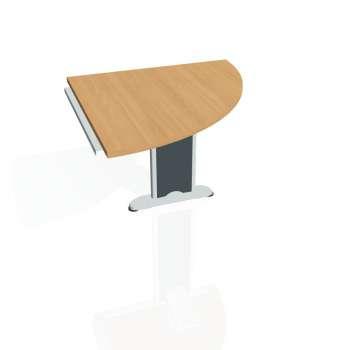Přídavný stůl Hobis CROSS CP 901 pravý, buk/kov