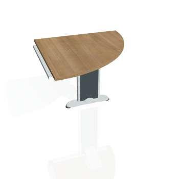 Přídavný stůl Hobis CROSS CP 901 pravý, višeň/kov