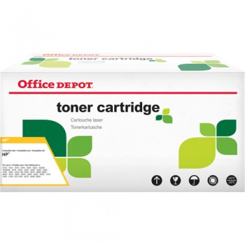 Toner Office Depot HP CE251A - azurový