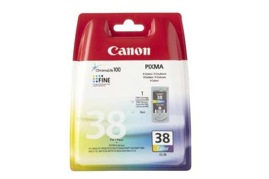 Cartridge Canon CL-38 - 3 barvy