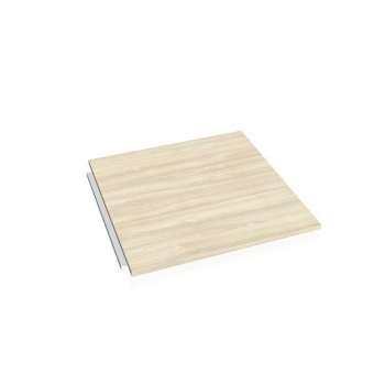 Doplňkový stůl CROSS, deska čtverec