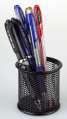 Drátěný kalíšek na tužky - malý, černý