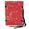 Spisové desky HIT Office - A4, s tkanicí, červené, 25 ks