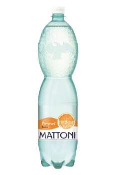 Ochucená minerální voda Mattoni - Pomeranč, 6 x 1,5 l, perlivá