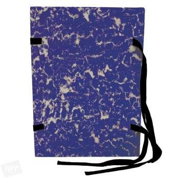 Spisové desky HIT Office - A4, s tkanicí, modrá , 25 ks