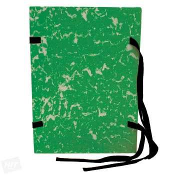 Spisové desky HIT Office - A4, s tkanicí, zelená, 25 ks