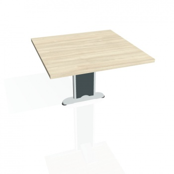 Přídavný stůl Hobis CROSS CP 801, akát/kov