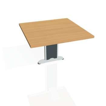 Přídavný stůl Hobis CROSS CP 801, buk/kov