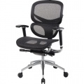 Kancelářská židle Realspace Pro Dakar synchronní - černá