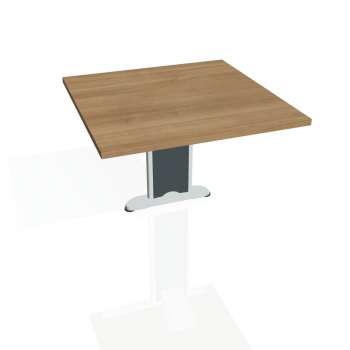 Přídavný stůl Hobis CROSS CP 801, višeň/kov