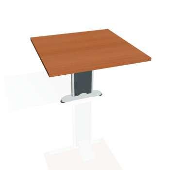 Přídavný stůl Hobis CROSS CP 801, třešeň/kov