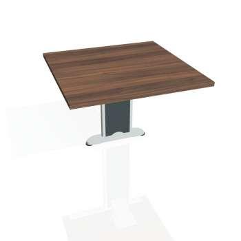 Přídavný stůl Hobis CROSS CP 801, ořech/kov