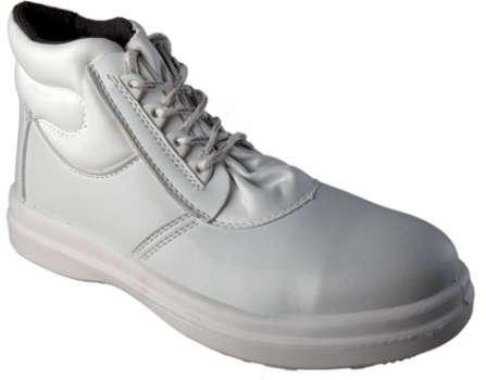 Kotníkové boty Panda, bílé, vel. 39