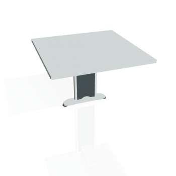 Přídavný stůl Hobis CROSS CP 801, šedá/kov