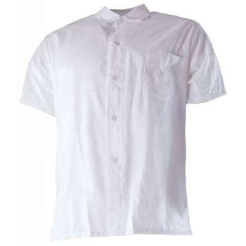 Košile pánská krátký rukáv, bílá, vel. 56