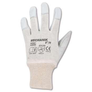 Kombinované rukavice MECHANIK - vel. 10