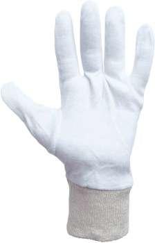 Rukavice textilní šité COREY, vel. 8