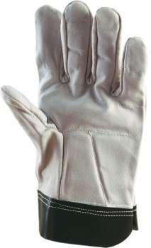Pracovní rukavice celokožené Antivibra, vel. 10