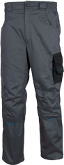 Pracovní kalhoty pas  4TECH 02 šedo-černé vel. 56