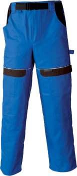 Pracovní kalhoty pas COOL TREND 201 modré, vel. 48
