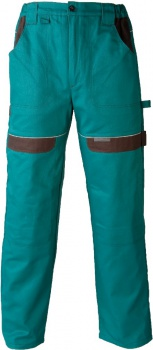 Pracovní kalhoty Cool Trend - zelené, velikost 54