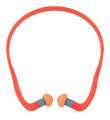 Hladké špunty do uší s obloukem QB3HYG