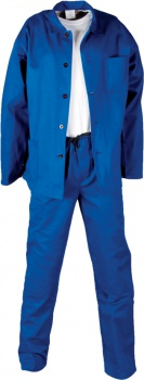 Pracovní oděv, 245g/m2, zdvojená kolena, vel. 56