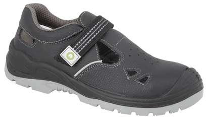 Pracovní sandály na suchý zip Ardon Reflex S1 - s ocelovou špicí, velikost 42