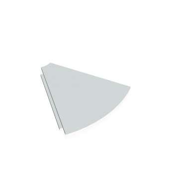 Stůl doplňkový CROSS, deska kruh 45°