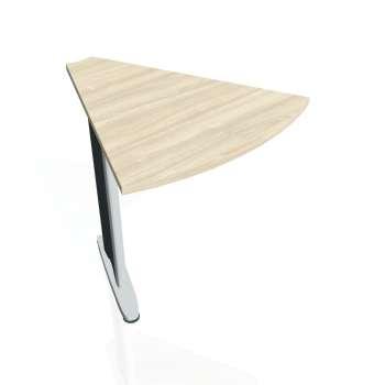 Přídavný stůl Hobis CROSS CP 451, akát/kov