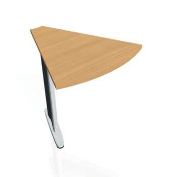 Přídavný stůl Hobis CROSS CP 451, buk/kov