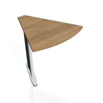 Přídavný stůl Hobis CROSS CP 451, višeň/kov