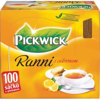 Čaj Pickwick Ranní - s citronem, 100 x 1,75 g