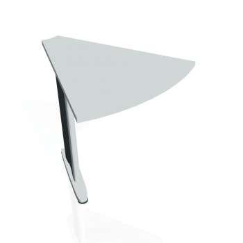 Přídavný stůl Hobis CROSS CP 451, šedá/kov