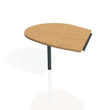 Přídavný stůl Hobis CROSS CP 20 levý, buk/kov