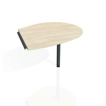 Přídavný stůl Hobis CROSS CP 20 pravý, akát/kov