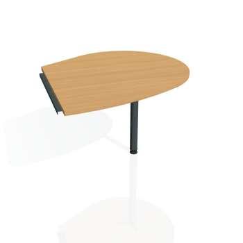Přídavný stůl Hobis CROSS CP 20 pravý, buk/kov