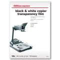Fólie pro černobílý tisk Office Depot - A4, 100 mikronů, transparentní, 100 ks