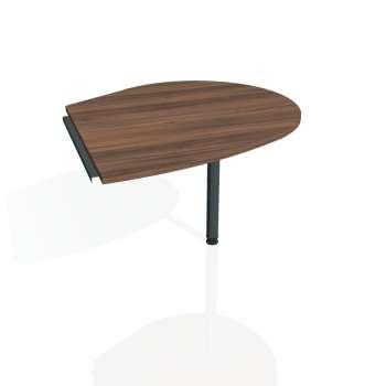 Přídavný stůl Hobis CROSS CP 20 pravý, ořech/kov