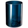 Odpadkový koš Midnight Blue - plastový, transparentní tmavě modrý, objem 16 l