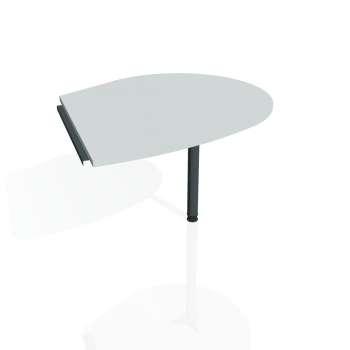 Přídavný stůl Hobis CROSS CP 20 pravý, šedá/kov