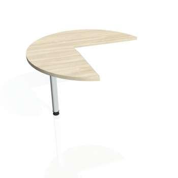 Přídavný stůl Hobis CROSS CP 21 levý, akát/kov