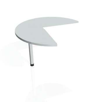 Přídavný stůl Hobis CROSS CP 21 levý, šedá/kov