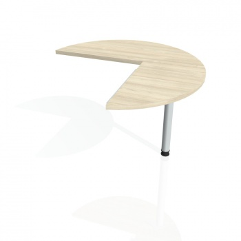 Přídavný stůl Hobis CROSS CP 21 pravý, akát/kov