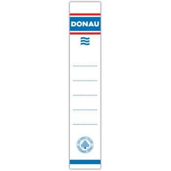 Zasouvací etikety pro pákové pořadače Donau, 5 cm, 20 ks