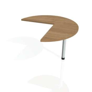Přídavný stůl Hobis CROSS CP 21 pravý, višeň/kov