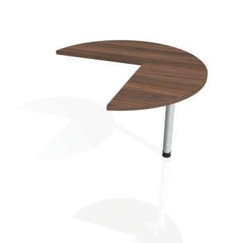 Přídavný stůl Hobis CROSS CP 21 pravý, ořech/kov