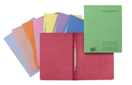 Rychlovazače HIT Office - A4, papírové, nezávěsné, mix barev, 20 ks