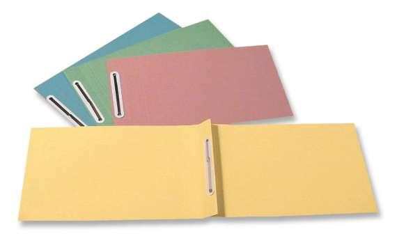Rychlovazače HIT Office - A5, papírové, nezávěsné, mix barev, 100 ks